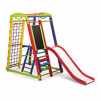 Игровой комплекс для ребенка спортивный уголок SportBaby Кроха - 1 Plus 3