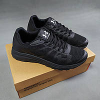 Мужские кроссовки Under Armour черные 43 размер