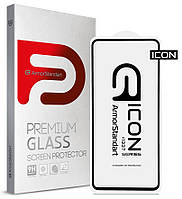 Захисне скло Armorstandart Icon для Samsung A52 Black (premium glass)