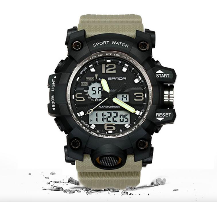 Часы спортивно-военные IP67