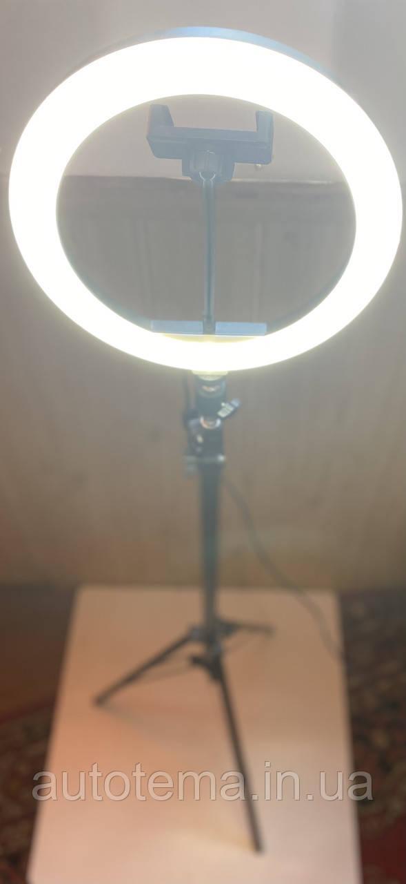 Штатив 215 см з кільцевої Led лампою XD-260 26cm