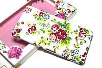 Пластиковый чехол для Sony Xperia M5 E5633 Цветы 2 , фото 1