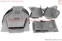 Защита нижняя железная 10 деталей для квадроцикла