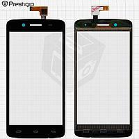 Touchscreen (сенсорный экран) для Prestigio MultiPhone 5507 Duo, оригинал, черный