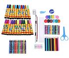 ОПТ Большой набор для детского творчества и рисования 86 предметов карандашей и фломастеров, фото 4