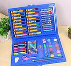 ОПТ Большой набор для детского творчества и рисования 86 предметов карандашей и фломастеров, фото 3