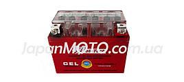Аккумулятор 4A 12V Honda/Yamaha (YTX4L-BS) Mototech гелевый 112x67x85