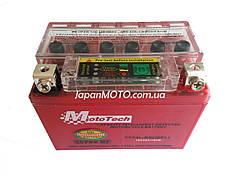 Аккумулятор 4A 12V Honda/Yamaha (YTX4L-BS) Mototech гелевый с индикатором 112x67x85
