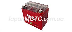 Аккумулятор 5A 12V (YTX5L-BS) MOTOTECH гелевый 112x67x107, фото 2