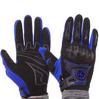 Мотоперчатки scoyco черно-синие MC23