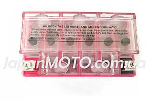 Аккумулятор 7A 12V (YTX7A-BS) MOTOTECH гелевый 148x85x93, фото 2