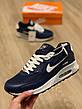 Nike Air Max 90 мужские кроссовки синие, фото 4
