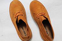 Испанские яркие брендовые замшевые ботинки дезерты, унисекс