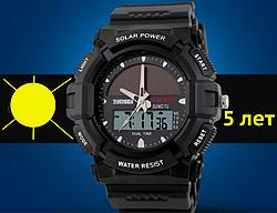 Часы на солнечной батарее водонепроницаемые
