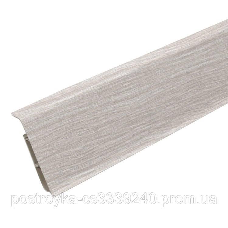 Плинтус пластиковый Идеал DECONIKA (Деконика) №294 Орех антик 70 мм