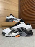 Мужские кроссовки Adidas Streetball / Адидас Стритбол черно-белые весенние