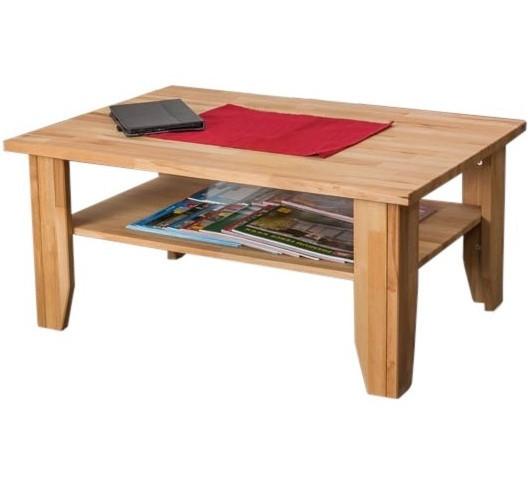 Журнальний столик у вітальні SJ002 дерев'яний з бука ТМ Mobler