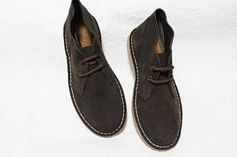 Модные женские замшевые ботинки дезерты Испания оригинал