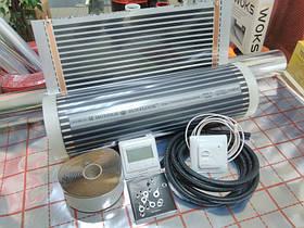 3m2 Тепла підлога Hot-Film з терморегулятором та датчиком підлоги під ламінат