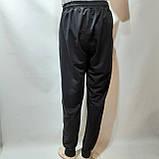 Мужские штаны весенние (Больших размеров) в стиле Nike под манжет черные, фото 6