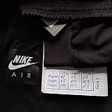Мужские штаны весенние (Больших размеров) в стиле Nike под манжет черные, фото 7
