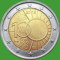 Бельгия 2 евро 2013 г. Метеорологический институт . UNC