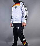Спортивний костюм Adidas чоловічий еластик білий, фото 2