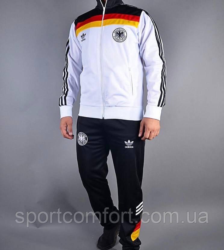 Спортивний костюм Adidas чоловічий еластик білий