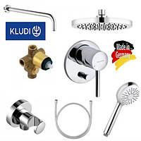 Душевая система Kludi Bozz 386300576 Хром