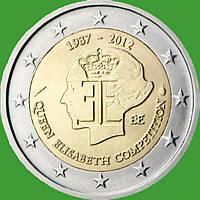 Бельгия 2 евро 2012 г. Конкурс королевы Елизаветы . UNC.