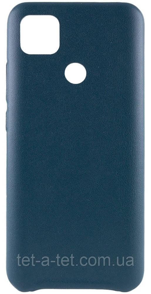 Кожаный чехол AHIMSA PU Leather Case для Xiaomi Redmi 9C Green