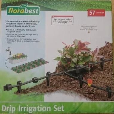 Система крапельного поливу зрошення Florabest 20м 0641