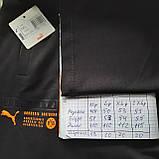 Чоловічі спортивні штани (норма) прямі в стилі Puma Туреччина відмінної якості, фото 7