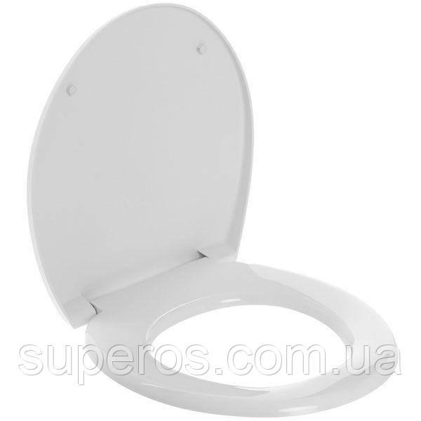 Сиденье для унитаза Универсал Белый СУ-1