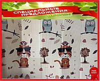 Детский раскладывающийся коврик Folding baby mat 180x150см №1 .Детский развивающий термоковрик.