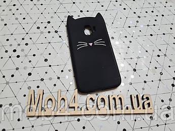 Резиновый 3D чехол  Кот Усы (CAT MUSTACHE) для Samsung Galaxy (Самсунг) J2 pro