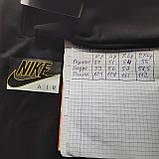 Мужские брюки спортивные весенние ( Норма ) в стиле Nike под манжет черные, фото 7