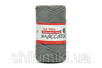 Эко шнур Macrame Cord 3 mm, цвет Мышиный