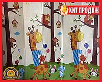 Детский раскладывающийся коврик Folding baby mat 180x150см №2 .Детский развивающий термоковрик.