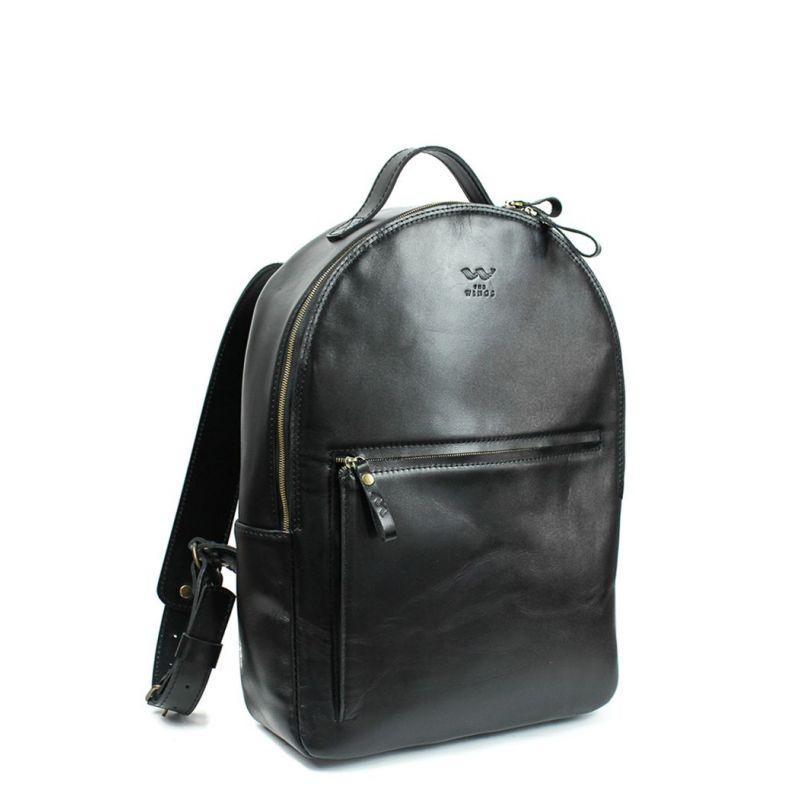 Шкіряний рюкзак Groove L чорний