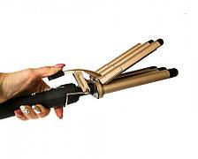 Плойка для волосся Gemei GM-2933, 65W, фото 3