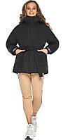 Куртка осенне-весенняя женская черная модель 21045, фото 1