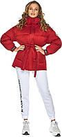 Рубінове жіноча куртка осінньо-весняна модель 21045, фото 1