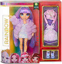 Кукла Rainbow High Виолетта Violet Willow Purple Clothes Фиолетовая Рейнбоу Хай Вайолет Виллоу 569602 Оригинал