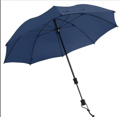 Мужской удобный механический зонт-трость EuroSCHIRM Swing Handsfree W2H69050/SU17745 синий