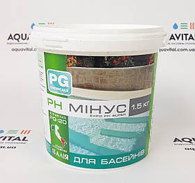 Средство для снижения уровня pH Barchemicals PG–20 в гранулах (1,5 кг)