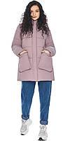 Пудрова куртка з манжетами жіноча модель 25680, фото 1