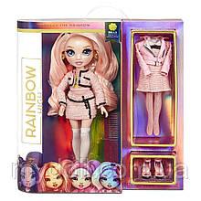 Рожева лялька Rainbow High Bella Parker Pink Fashion Doll - Мосту Хай Белла Паркер 570738