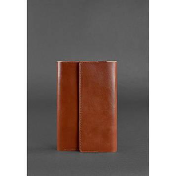 Шкіряний блокнот світло-коричневий Блокнот преміум класу з шкіряною обкладинкою Стильний софт-бук