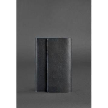 Шкіряний чорний блокнот ручної роботи Софт-бук для ділових чоловіків і жінок Блокнот люкс класу шкіряний